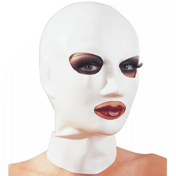 Latex 3 Loch Maske weiss