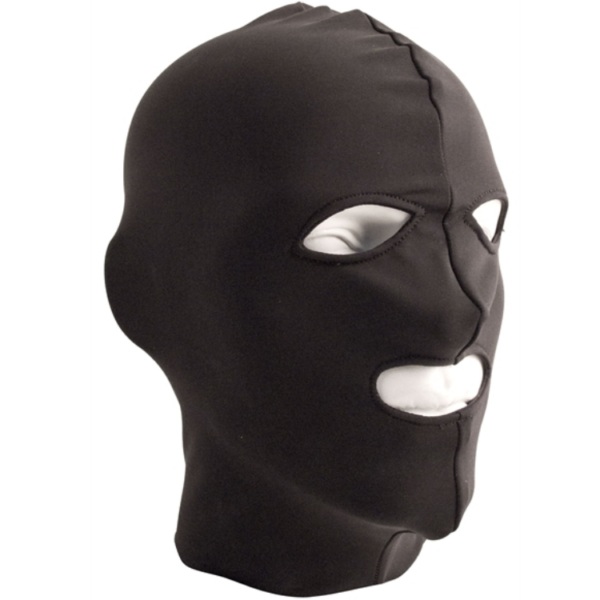 Mr. B Lycra 3 Loch Maske black