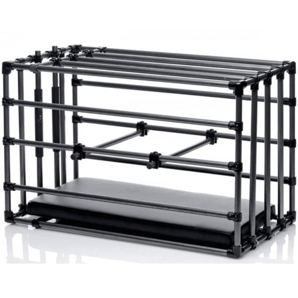Verstellbarer Bondage Zwinger Käfig