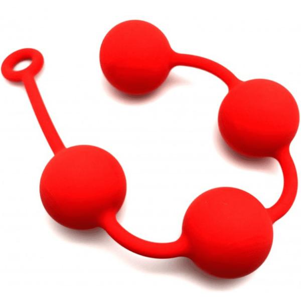 Analkugeln Riuge Quartett rot 6 cm