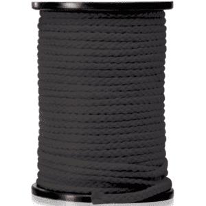 Fessel-Seil schwarz (Meterwahre)