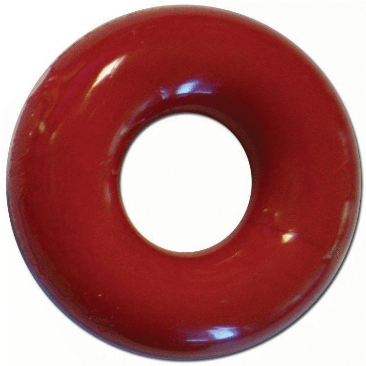 RudeRider Fat Stretchy Cock Ring red