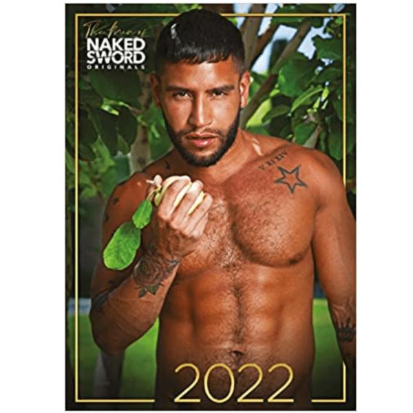 THE MEN OF NAKED SWORD 2022 CALENDAR