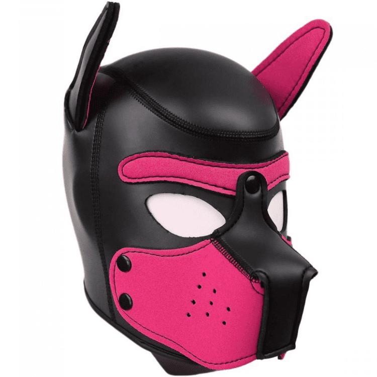 Neoprene Puppy Hoods pink L